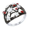 Кольцо 94012333 SOKOLOV из серебра с эмалью