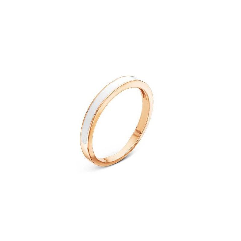 2307997 Серебряное кольцо с эмалью