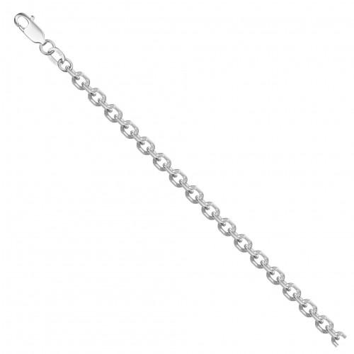 Цепь из серебра НЦ 22-205 с алмазной гранью КРАСЦВЕТМЕТ