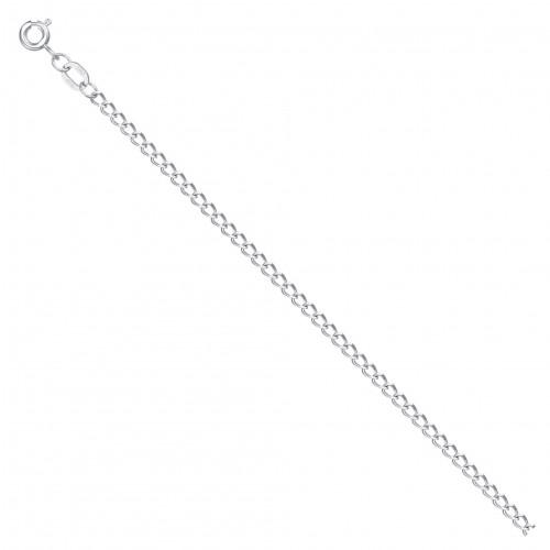 Цепь из серебра НЦ 22-010 с алмазной гранью КРАСЦВЕТМЕТ