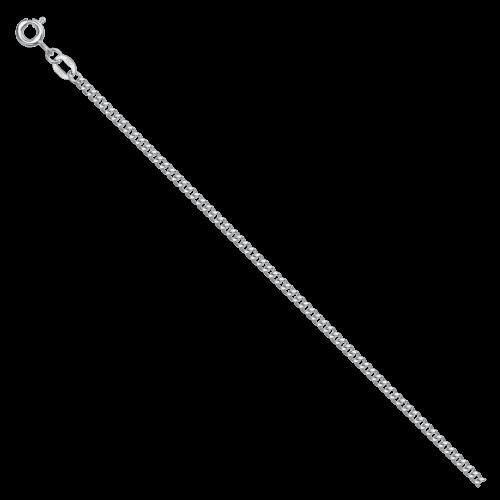Цепь из серебра НЦ 22-002 с алмазной гранью КРАСЦВЕТМЕТ