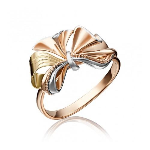Кольцо 01-5138-00-000-1113-48 из золота, ювелирный завод ПЛАТИНА
