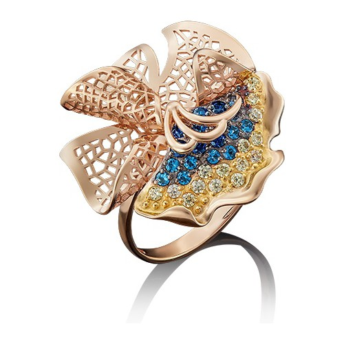 Кольцо из золота 01-4881-00-404-1110-65, ПЛАТИНА КОСТРОМА