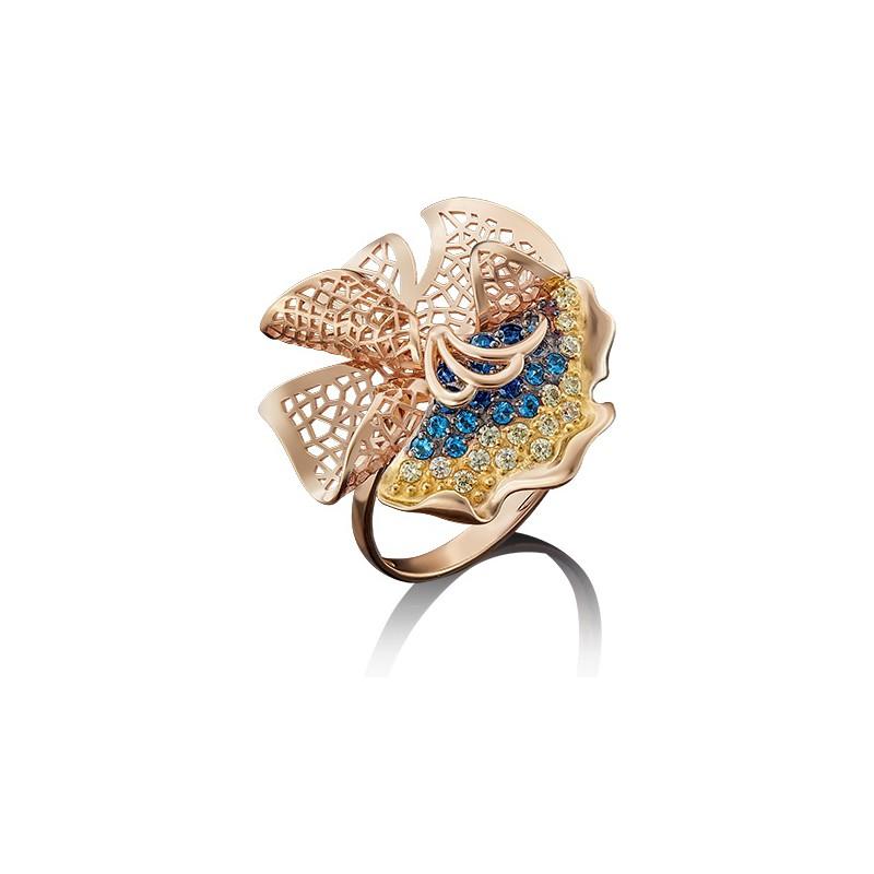 Кольцо из золота арт. 01-4881-00-404-1110-48, ПЛАТИНА КОСТРОМА
