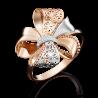 Кольцо 01-5040-00-000-1110-48 из золота, ювелирный завод ПЛАТИНА