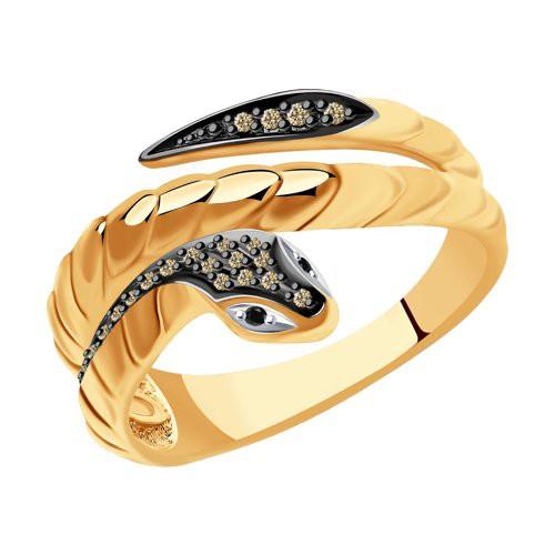Кольцо 7010067 SOKOLOV из золота с бриллиантами