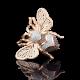Брошь 04-0135-00-404-1110-52  из золота ПЛАТИНА КОСТРОМА