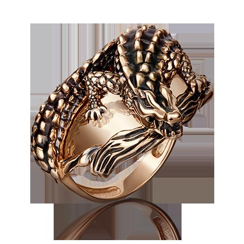 Кольцо из золота с эмалью, ПЛАТИНА КОСТРОМА