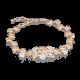 Браслет из золота, 05-0529-00-401-1110-24, Платина Кострома