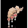 Брошь 04-0177-00-000-1110-48  из золота ПЛАТИНА КОСТРОМА