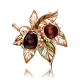 Брошь 04-0197-00-271-1110-46 из золота ПЛАТИНА КОСТРОМА