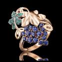 Кольцо из золота, ювелирный завод ПЛАТИНА