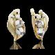 Серьги 02-3912-00-000-1121-59 из желтого золота