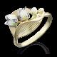 Кольцо 01-5021-00-000-1121-59 из золота с эмалью ПЛАТИНА КОСТРОМА