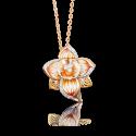 Подвеска 03-2555-00-401-1113-48 из золота с эмалью ПЛАТИНА КОСТРОМА