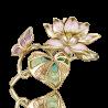 Брошь 04-0194-00-000-1130-48 из золота с эмалью ПЛАТИНА КОСТРОМА