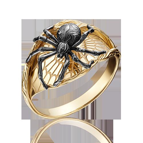 "Кольцо ""Паук"" из желтого золота 01-5157-00-000-1130-59 ПЛАТИНА КОСТРОМА"