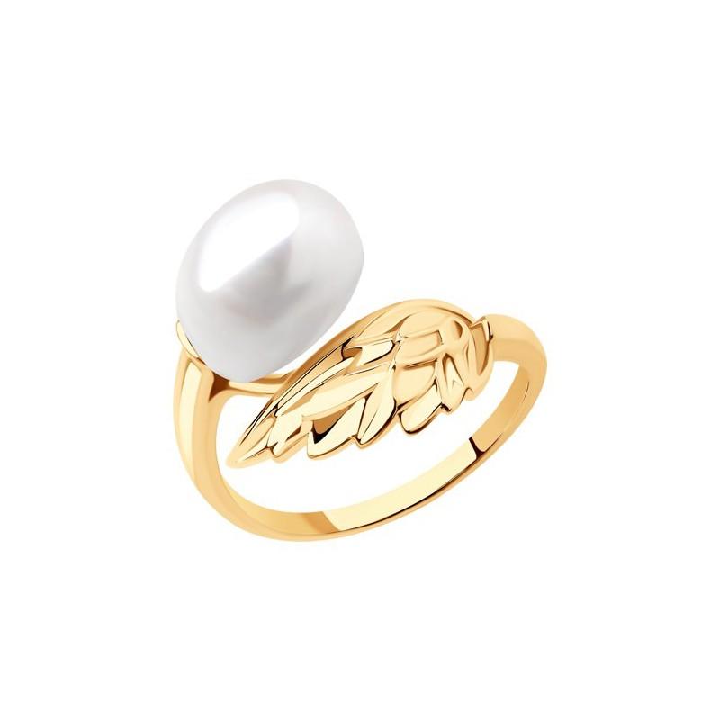 791207 Кольцо - из золота с жемчугом, SOKOLOV