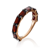 Кольцо из золота с гранатом, Платина Кострома
