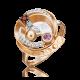 Кольцо из золота с гранатом - ЮЗ Платина