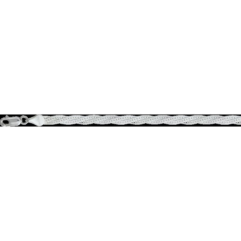 Цепь из серебра КРАСЦВЕТМЕТ НЦ 22-025