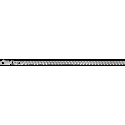 Цепь из серебра с алмазной гранью КРАСЦВЕТМЕТ НЦ 22-023