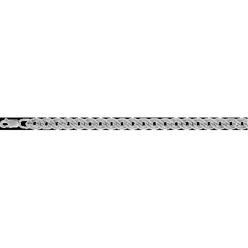 Цепь из серебра с алмазной гранью КРАСЦВЕТМЕТ НЦ 22-200
