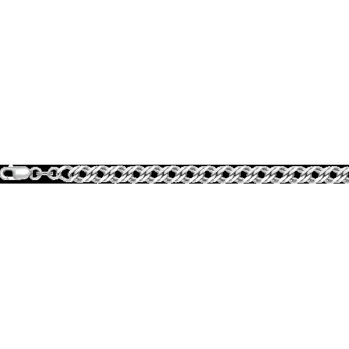 Цепь из серебра с алмазной гранью КРАСЦВЕТМЕТ НЦ 22-076