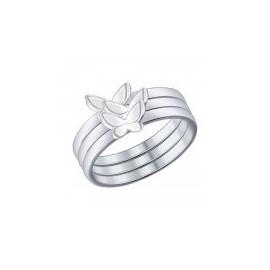 Кольца из серебра без вставок