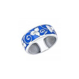 Кольца с эмалью из серебра
